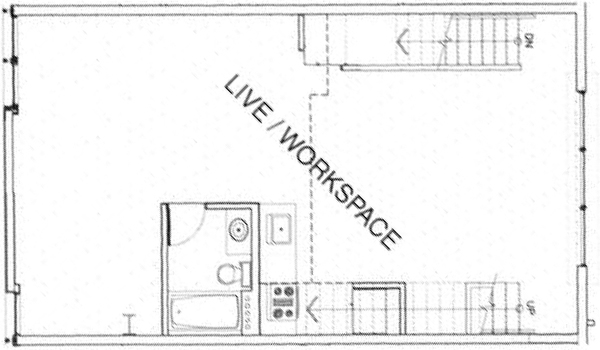 la live work lofts cahuenga lofts floor plans