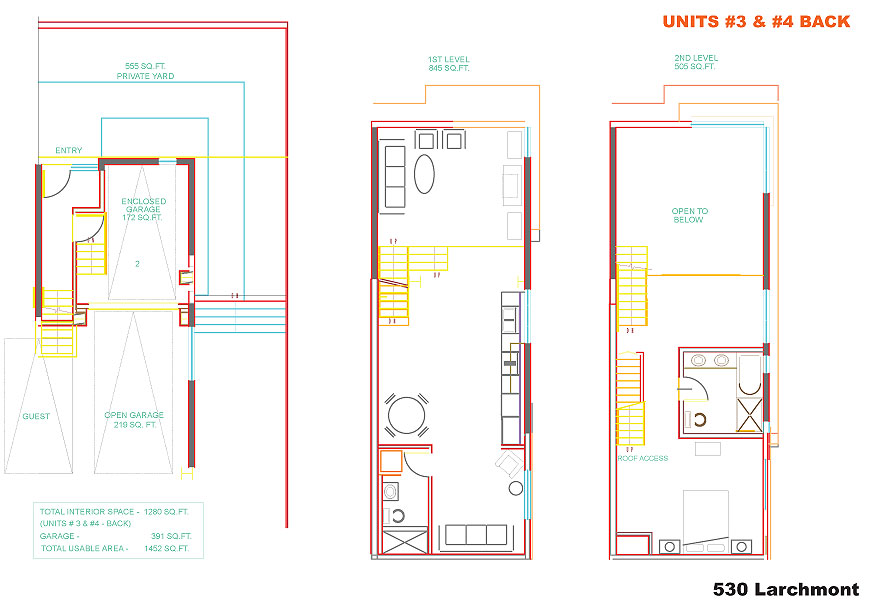la live work lofts larchmont lofts floor plans