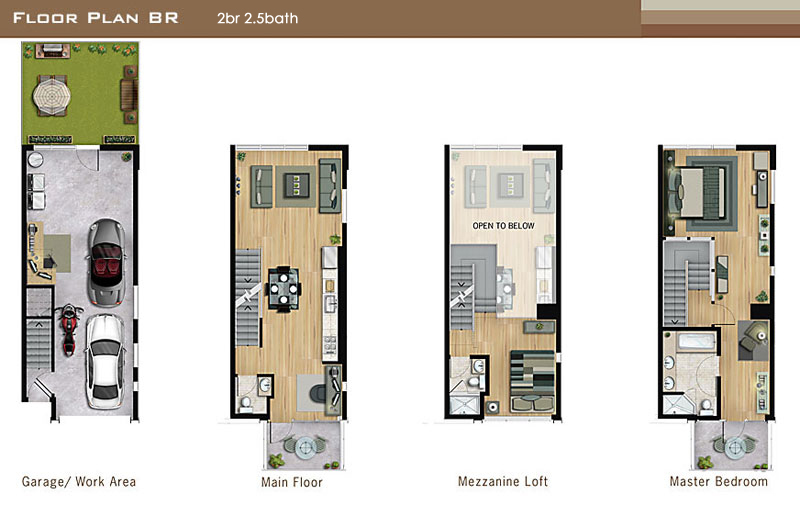 la live work lofts universal lofts floor plans