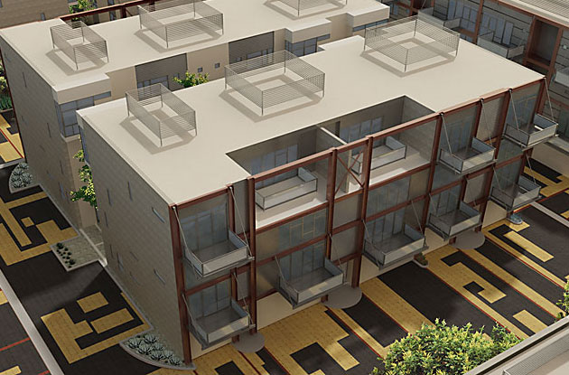 LA Live Work Lofts - Universal City Lofts Project